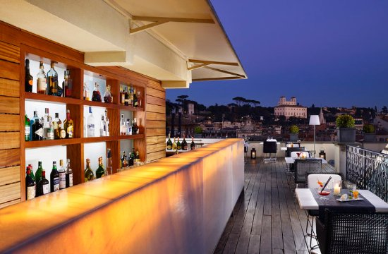 Roof Garden - Picture of The First Roma, Rome - TripAdvisor