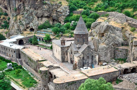 Garni Temple, Geghard, and Lavash