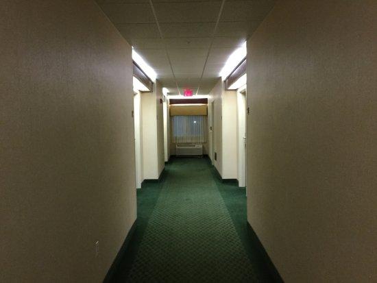 Uniontown, PA: Dark corridors.