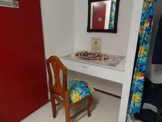 Pacific Treelodge Resort: Desk/writing area