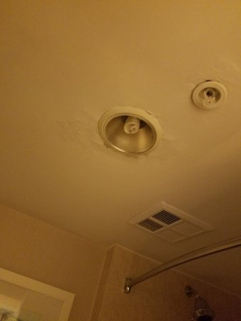 Water Leaking From Bathroom Ceiling Picture Of Radisson Hotel - Bathroom ceiling leaking