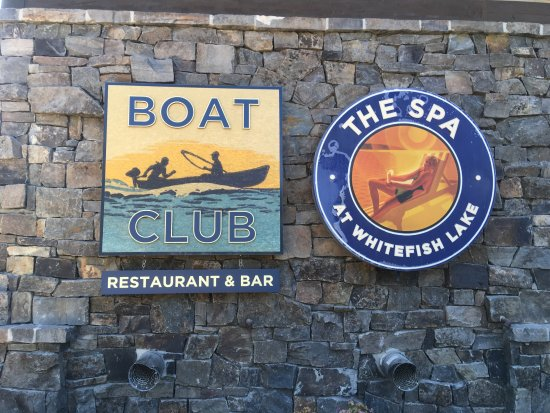 Boat Club Lounge & Restaurant: When you see this . . . you're there!