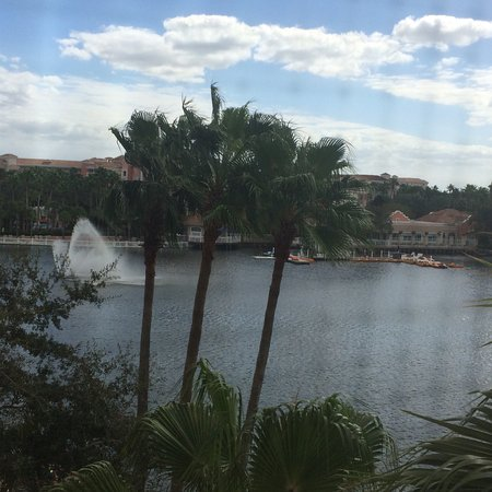 View from the Master Bedroom balcony overlooking the Lake.