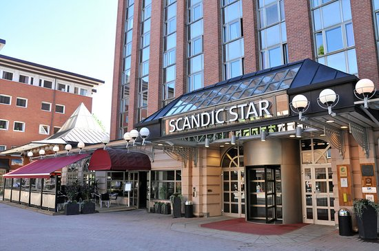 Scandic Hotel Star Sollentuna: Scandic Star Sollentuna Entrance