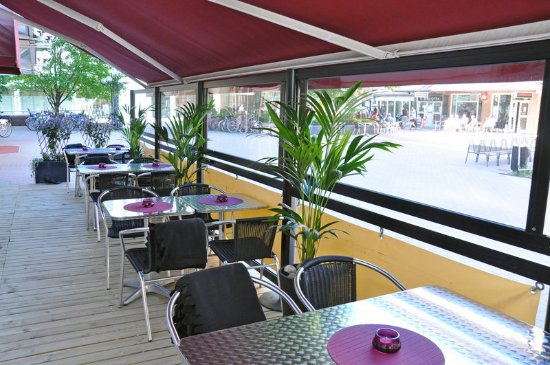 Scandic Hotel Star Sollentuna: Scandic Star Sollentuna Terrace Outdoor