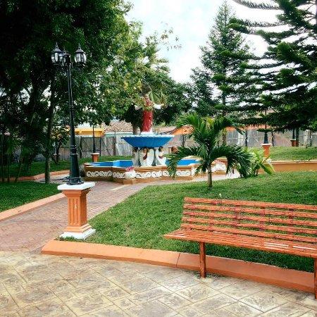 Marcala, Honduras: One ofthe entrances to the park