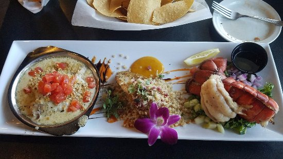 Seafood trio special lunch for 20 yes for real for Fish tales cape coral