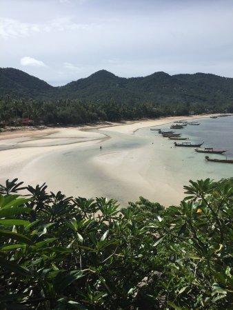 Condizioni della spiaggia e del mare del Koh Tao Cabana