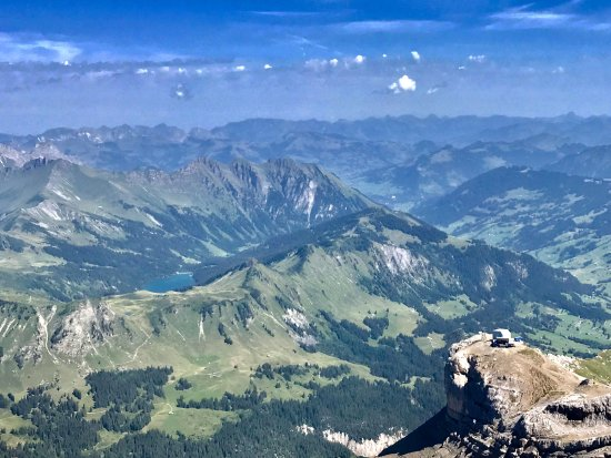 Les Diablerets, Schweiz: the view