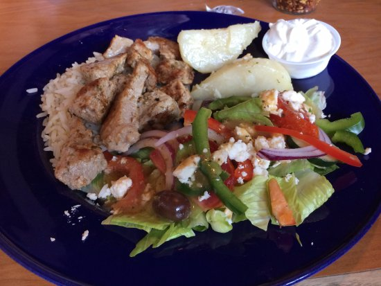 Moroni Restaurant & Tavern : Marinated Pork Souvlaki