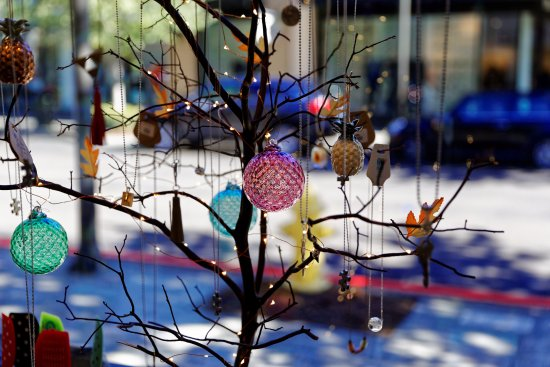 Hillsboro, OR: Trees full of beautiful ornaments