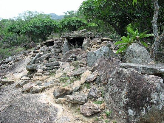 Chinnar Wildlife Sanctuary: The dolmen (pre-historic grave)