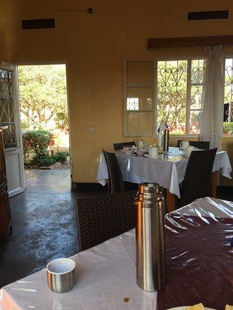 Kibungo, Rwanda: View from breakfast