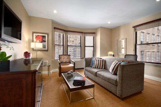 chandler suite bedroom - picture of hotel chandler, new york city