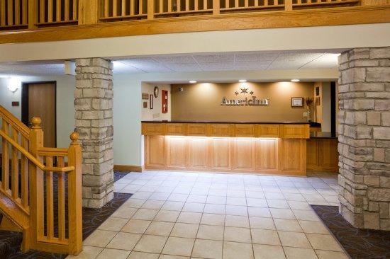 ปรินซ์ตัน, มินนิโซตา: Americ Inn Princeton Front Desk