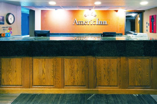 Americ Inn Cedar Falls Front Desk Original