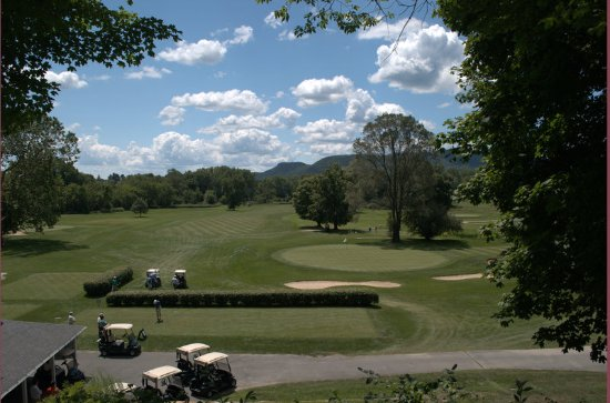 Lenox, MA: The Course From Above