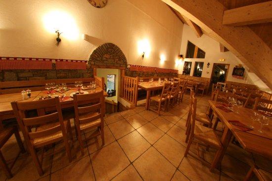 Oz en Oisans, Frankrike: Salle à l'étage