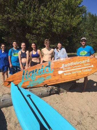 Rossland, Canada: Liquid Lifestyle Paddleboard Co.