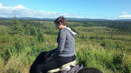 Anchor Point, AK: On a ride <3