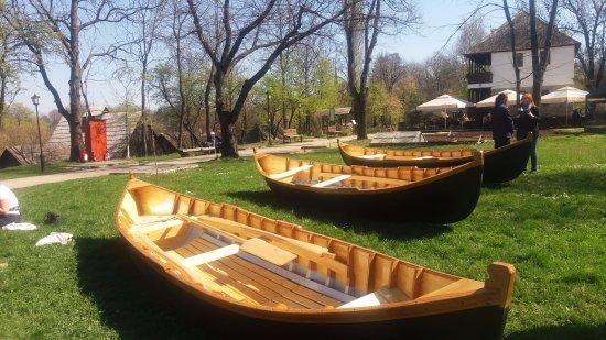 Village Museum (Muzeul Satului): Traditional boats