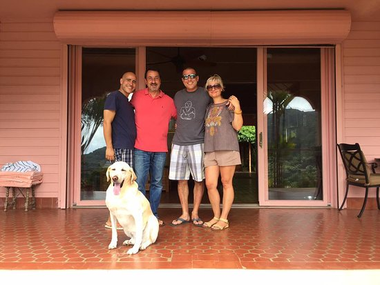 Casa Flamboyant: Our wonderful hosts