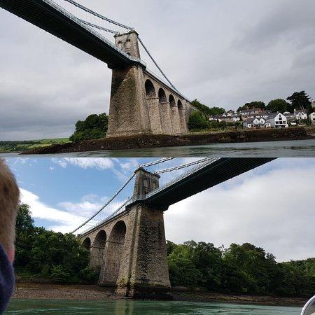 Menai Bridge, UK: Rib Ride