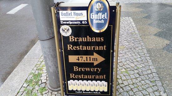Gaffel Haus Berlin an der Friedrichstrasse Picture of