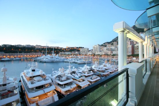 Terrace view picture of port palace hotel monte carlo for 104 terrace view ave