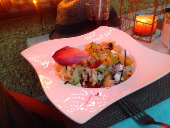 Brides-les-Bains, Francia: Salade parfaite pour un végétarien