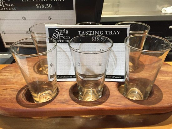 Motueka, New Zealand: Tasting tray