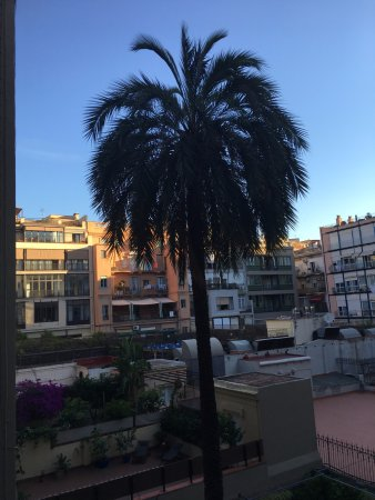 H10 Urquinaona Plaza: View from my terrace.