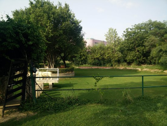 Trident, Agra: another view of the Play area / grounds.