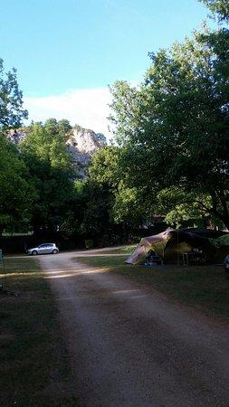 Camping Les Falaises à Gluges