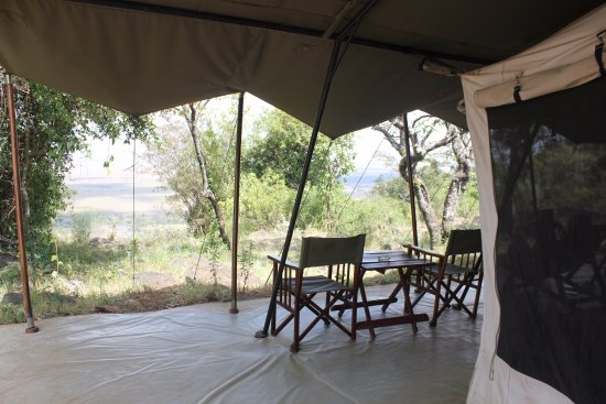 Mara Siria Camp: View from tent 5