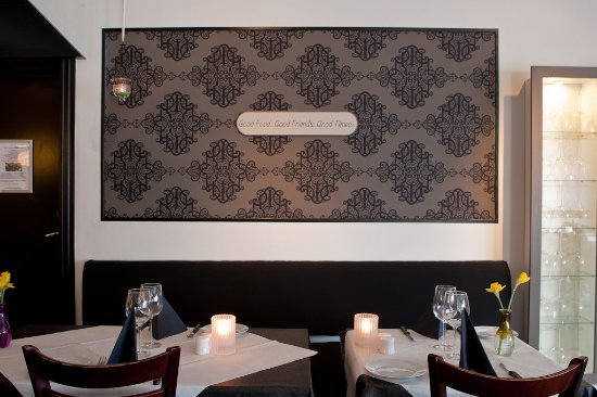 Naestved, Danmark: Restauranten.