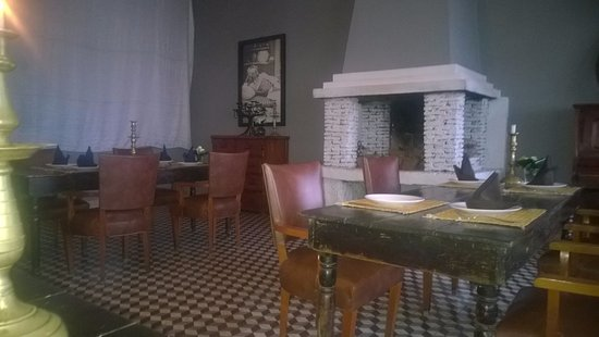 Tangaro Auberge & Spa: The restaurant