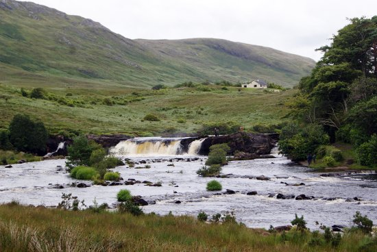 County Galway, Irland: Le Cascate