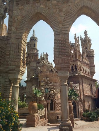 Castillo de Colomares: zameczek