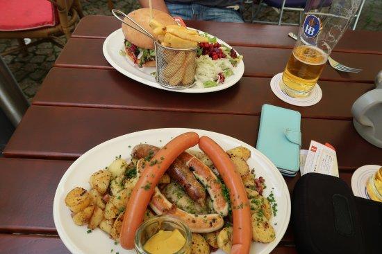 Gasthaus Zur Hohen Lilie - Due Angeli: Meals