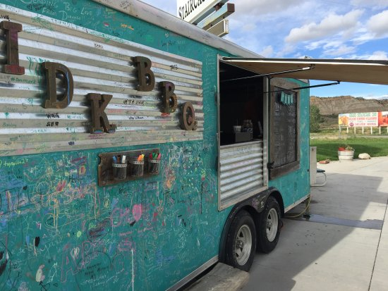 Cannonville, UT: Food truck