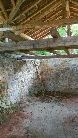 Kobarid, Slovenia: Water reservoir