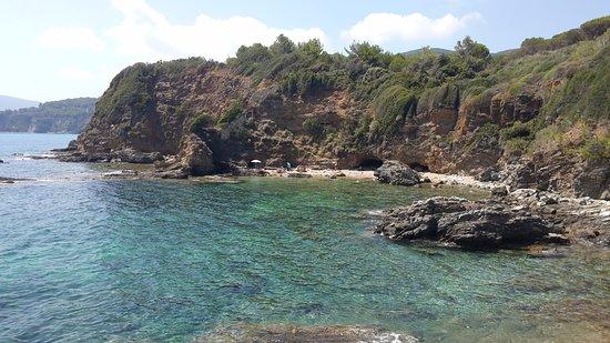 Capoliveri, Italia: spiaggia di Felciaio
