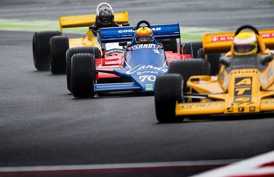 Magny, Francia: Grand Prix de France Historique 2017