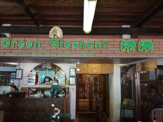 Green Elephant Restaurant Yangon Rangoon Restaurant