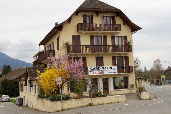 Департамент Верхняя Савойя, Франция: Hotel restaurant