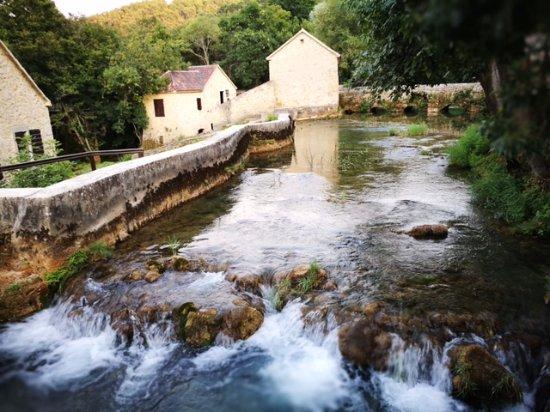 Skradin, Croatia: in a way