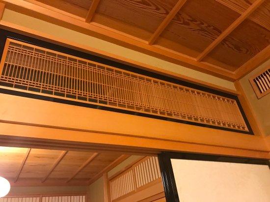 Hida, Japonya: Japanese transom window