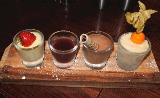 Browns Restaurant at Nevis Bank Inn: ASSAGGI DI DOLCI DA EVITARE