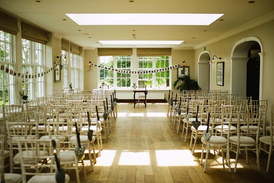 Hope, UK: The ceremony room / dining area